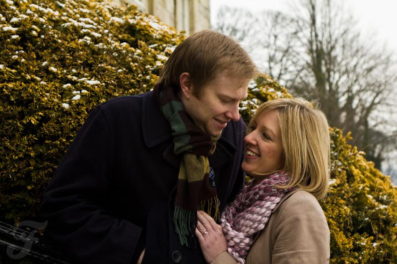 A Winter Pre-Wedding Shoot