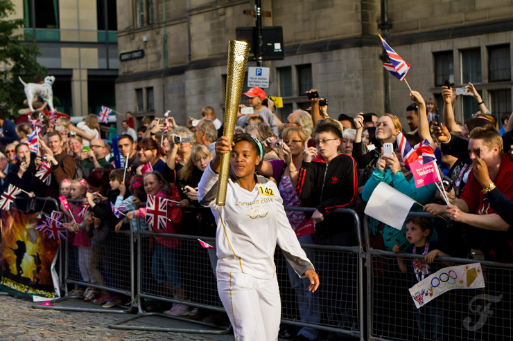 Olympic Torch Relay 2012 – Sheffield and Rotherham